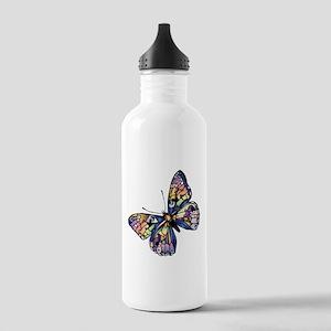 Exotic Butterfly Water Bottle