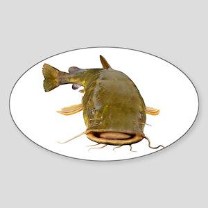 Fat Flathead catfish Sticker