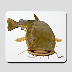 Fat Flathead catfish Mousepad