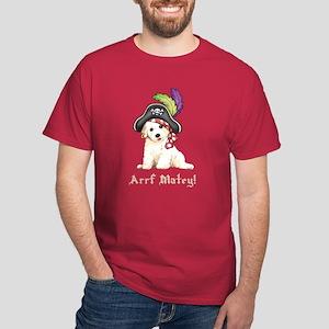 Bichon Pirate Dark T-Shirt