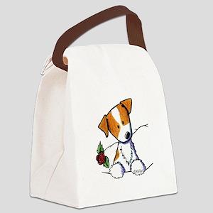 Pocket Rose JRT Canvas Lunch Bag