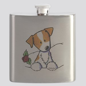 Pocket Rose JRT Flask