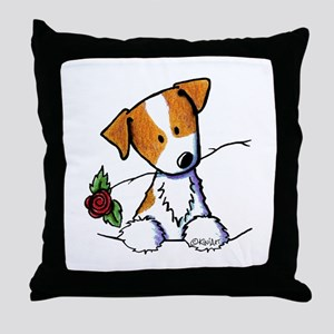 Pocket Rose JRT Throw Pillow