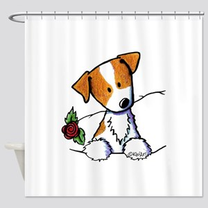 Pocket Rose JRT Shower Curtain