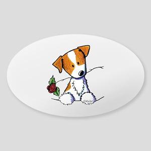 Pocket Rose JRT Sticker (Oval)