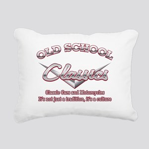 Old School Classics Rectangular Canvas Pillow