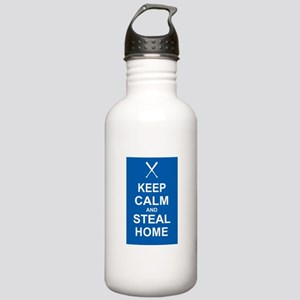 Keep Calm and Steal Home Stainless Water Bottle 1.