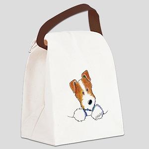 Pocket JRT BC2 Canvas Lunch Bag