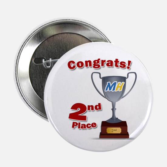 """MiceHunt 2nd Place! 2.25"""" Button"""