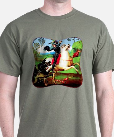 St. George Fighting Dragon T-Shirt