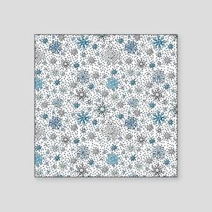Perfect Snow Square Sticker 3 x 3