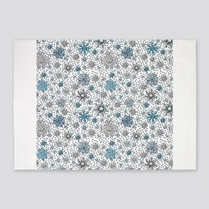 Perfect Snow 5x7Area Rug