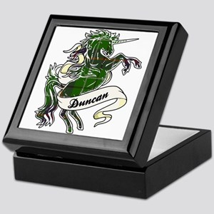 Duncan Unicorn Keepsake Box