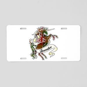 Dundee Unicorn Aluminum License Plate