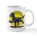 Flat Coated Retriever Illustration Mug