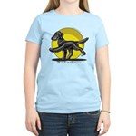 Flat Coated Retriever Illustration T-Shirt