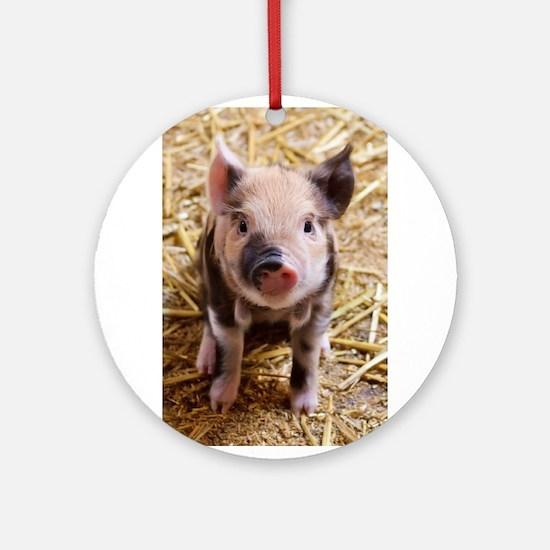 This Little Piggy Ornament (Round)