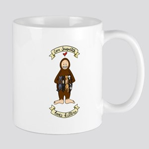 Even Sasquatch Loves Kittens Mugs