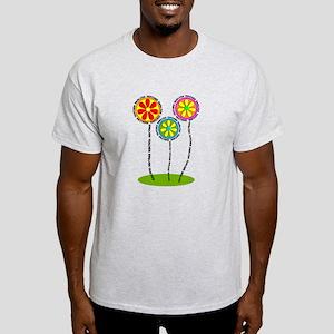 English Teacher Flowers T-Shirt