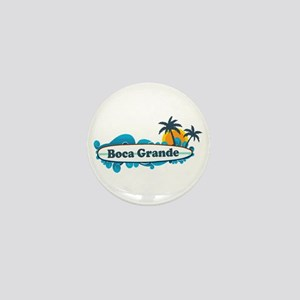 Boca Grande - Surf Design. Mini Button