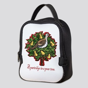 A PARTRIDGE IN A PEAR TREE Neoprene Lunch Bag