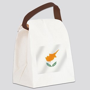 Flag of Cyprus Canvas Lunch Bag