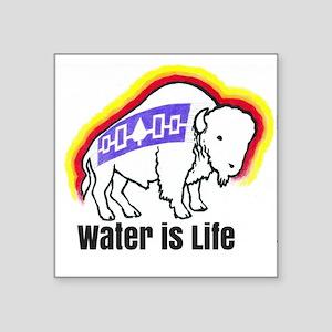 Water is Life Buffalo Sticker