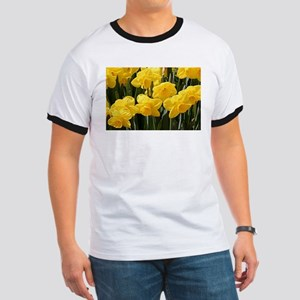 Daffodil flowers in bloom T-Shirt