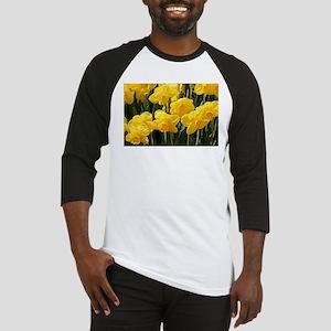 Daffodil flowers in bloom Baseball Jersey