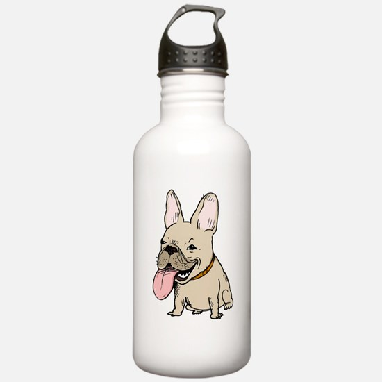 Frenchie Sports Water Bottle