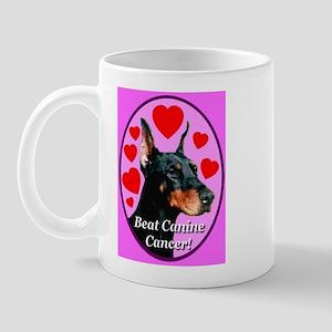 Beat Canine Cancer Cyan Mug