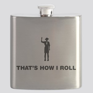 Boy Scout Flask