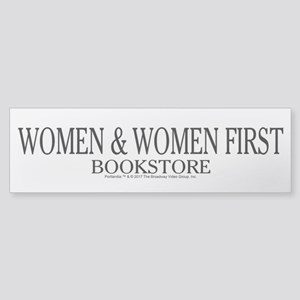 Women And Women First Portlandia Bumper Sticker