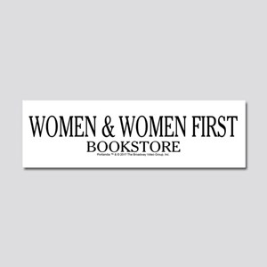 Women And Women First Portlandia Car Magnet 10 x 3