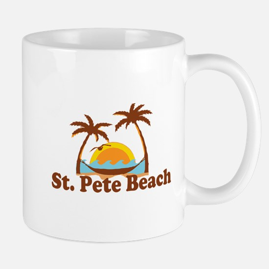 Boca Grande - Palm Trees Design. Mug