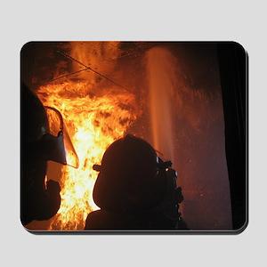 Firefighter Flashover Mousepad