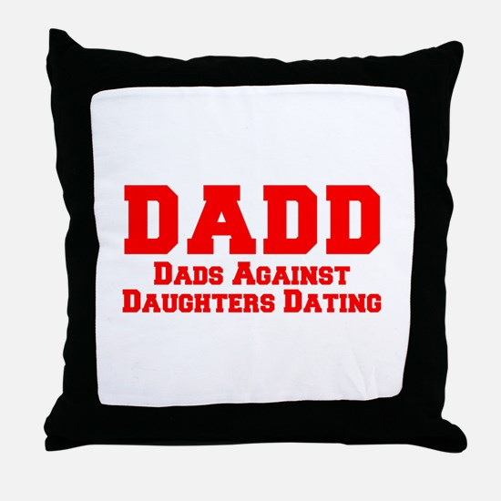 Funny Dating Throw Pillow