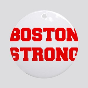 boston-strong-freshman-red Ornament (Round)