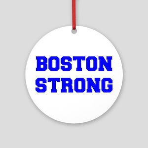 boston-strong-freshman-blue Ornament (Round)