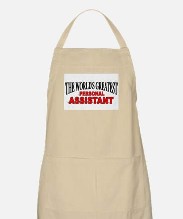 """The World's Greatest Personal Assistant"" BBQ Apro"