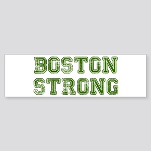 boston-strong-colleged-green Bumper Sticker
