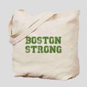 boston-strong-colleged-green Tote Bag