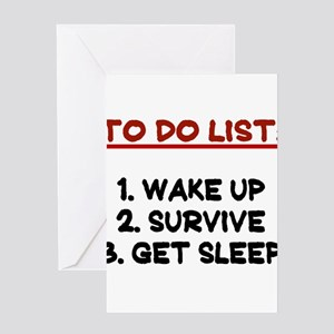 To do list greeting cards cafepress to do list greeting card m4hsunfo
