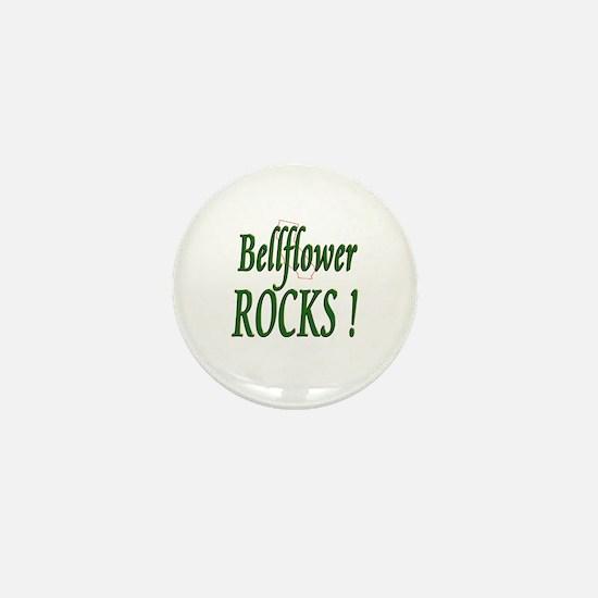 Bellflower Rocks ! Mini Button