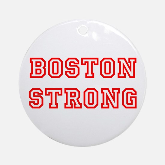 boston-strong-allstar-red Ornament (Round)