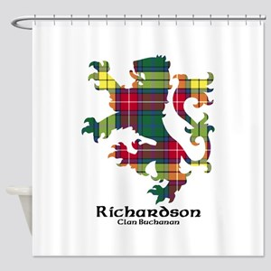 Lion-Richardson.Buchanan Shower Curtain