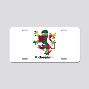 Lion-Richardson.Buchanan Aluminum License Plate