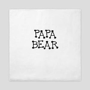PAPA BEAR Queen Duvet
