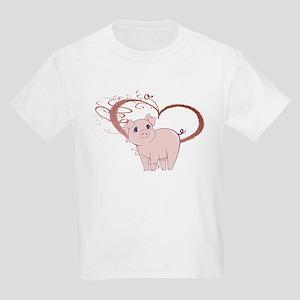 Cute Piggy Art T-Shirt