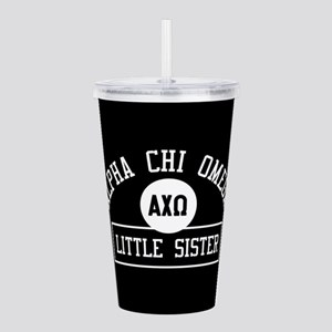 Alpha Chi Omega Little Acrylic Double-wall Tumbler